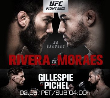Fight Channel PPV event: UFC Fight Night: Rivera vs. Moraes
