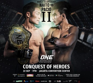 Naito defends strawweight title vs. Joshua Pacio at ONE Championship 80