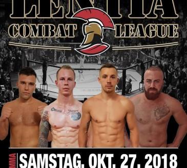 LENTIA COMBAT LEAGUE 27.10.2018 Linz
