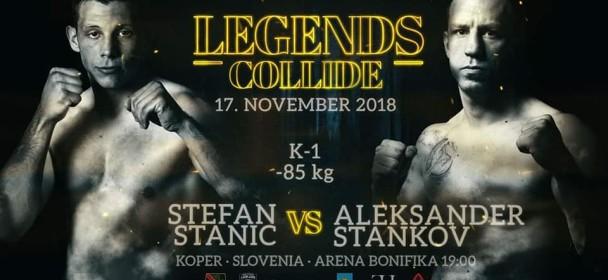 Aleksander Stankov :Stankov bo prišel v ring odločen in samozavesten !!