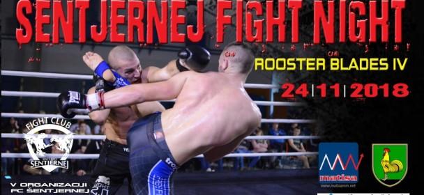 FIGHT NIGHT, Rooster Blades IV. Spremenjena lokacija dogodka
