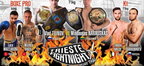 Trieste fight night-Odštevamo, le še 2 dneva