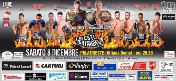Nov par potrjen za izvrstni Trieste fight night