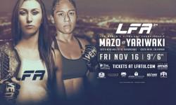LFA 54: Mazo vs. Yariwaki Results