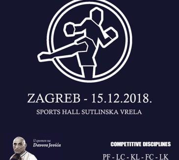 """CROATIA OPEN 2018. 1. Memorijal Davora Jovića""-TO SOBOTO !!!"