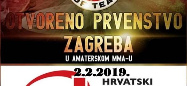 ZAGREB OPEN- Amaterski MMA Sobota, 02. februar 2019
