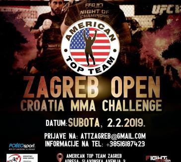 ZAGREB OPEN, CROATIA MMA CHALLENGE Prijavite borce
