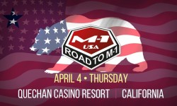 Road to M-1: USA 2, April 4, California