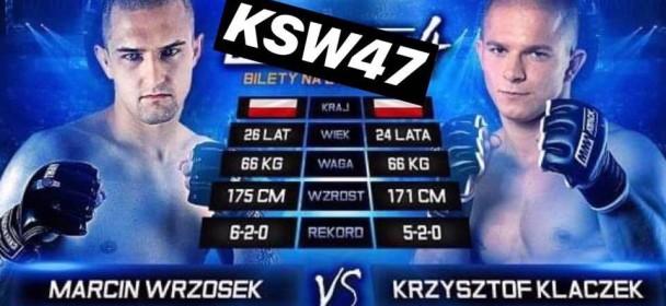 Marcin Wrzosek z novim nasprotnikom na KSW 47