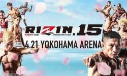 Rizin 15 Results