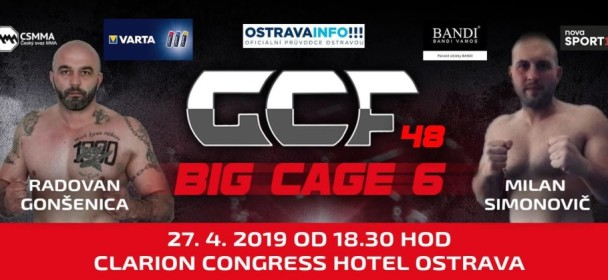 GCF 48: BIG CAGE 6 FIGHTCARD.