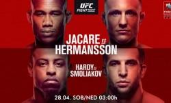 UFC Fight Night: Jacare vs. Hermansson fight card