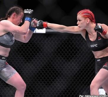 Gillian Robertson vs. Sarah Frota added to UFC 240