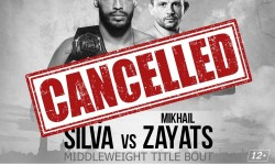 MMA GRAND PRIX RUSSIA is cancelled