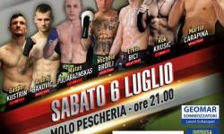 Trieste Fight Night Molo Pescheria 6.7.2019.
