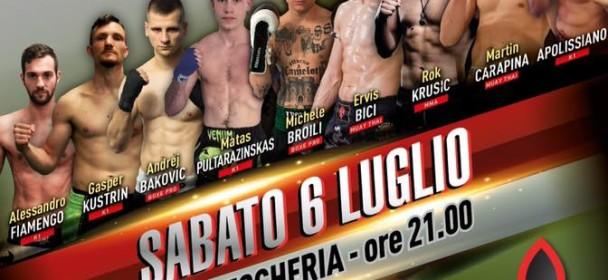 Trieste Fight Night – 6.Julij 2019 Pomol Trst !!