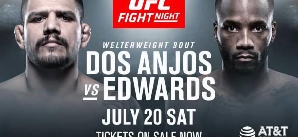 Rafael dos Anjos vs. Leon Edwards UFC San Antonio