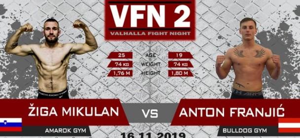Žiga Mikulan : Bodite del odlične publike in pridite 16.novembra v Celje, na Valhalla Fight Night 2