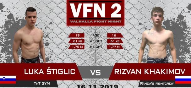 Luka Štiglic : Dal bom vse od sebe in zabeležil svojo drugo zmago na Valhalli.