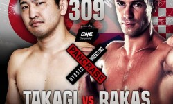 To nedeljo Takagi vs. Rakas Pancrase 309