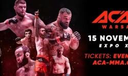 ACA 101 Warszaw-Confirmed bouts
