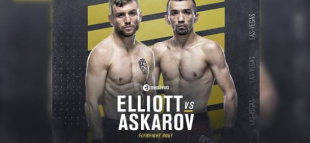 Tim Elliott vs. Askar Askarov set for UFC 246