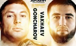Evgenii Goncharov will meet Mukhumat Vakhaev at #ACA104 in Krasnodar!