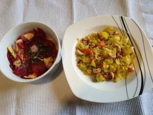 pražen riž z zelenjavo in s curry-jem