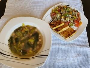 porova juha s čičeriko