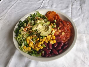 hranljiv zelenjavni krožnik s pridihom mehike 1