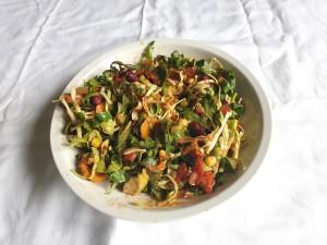 hranljiv zelenjavni krožnik s pridihom mehike 2